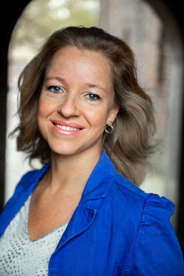 Yvonne Doorduyn: 'Ik wilde iets schrijven waarbij ik aan niemand verantwoording hoefde af te leggen.'  Beeld Ruud Pos
