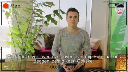 Hoeveel keer zingt Niels Destadsbader 'over' in 'Verover Mij'?