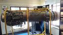 De motor van een Northrop F-3 jachtbommenwerper.