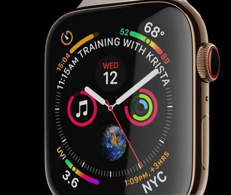 Versie vier van de Apple Watch.