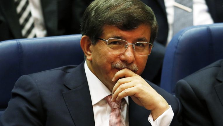 Ahmet Davutoglu Beeld reuters
