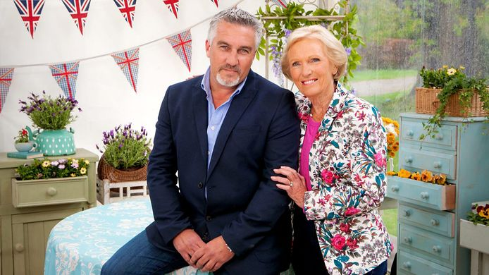 Paul Hollywood en Mary Berry in The Great British Bake Off.