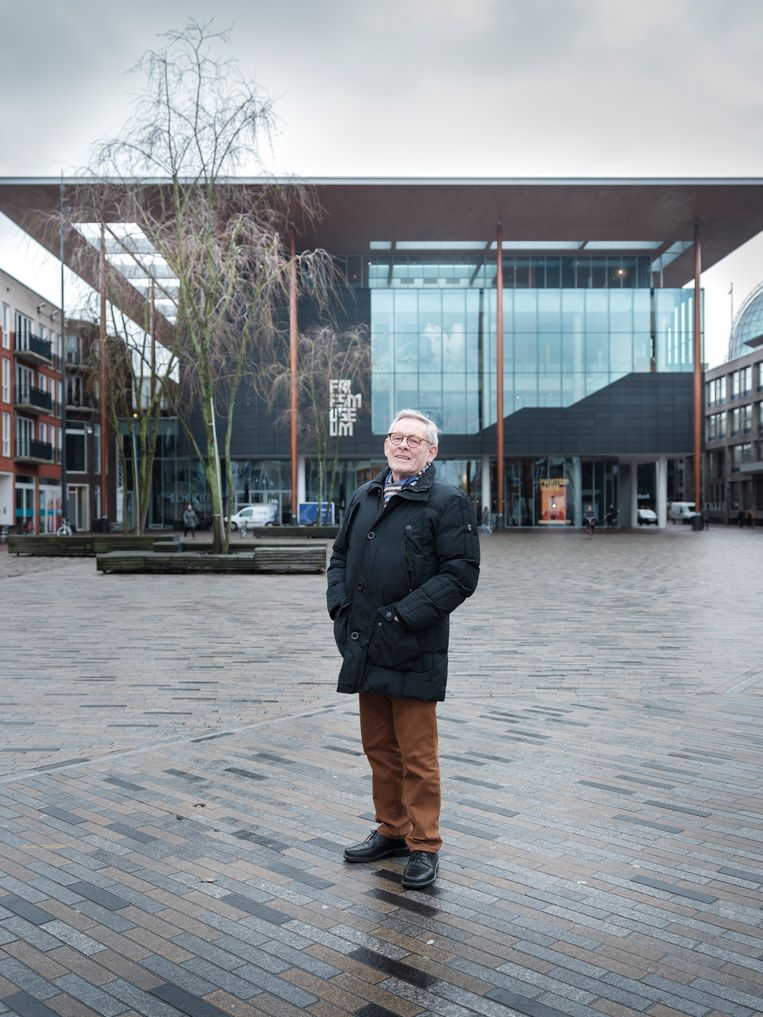 Schrijver Hylke Speerstra Beeld Sjaak Verboom