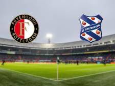 Feyenoord treedt in eigen huis aan tegen Heerenveen