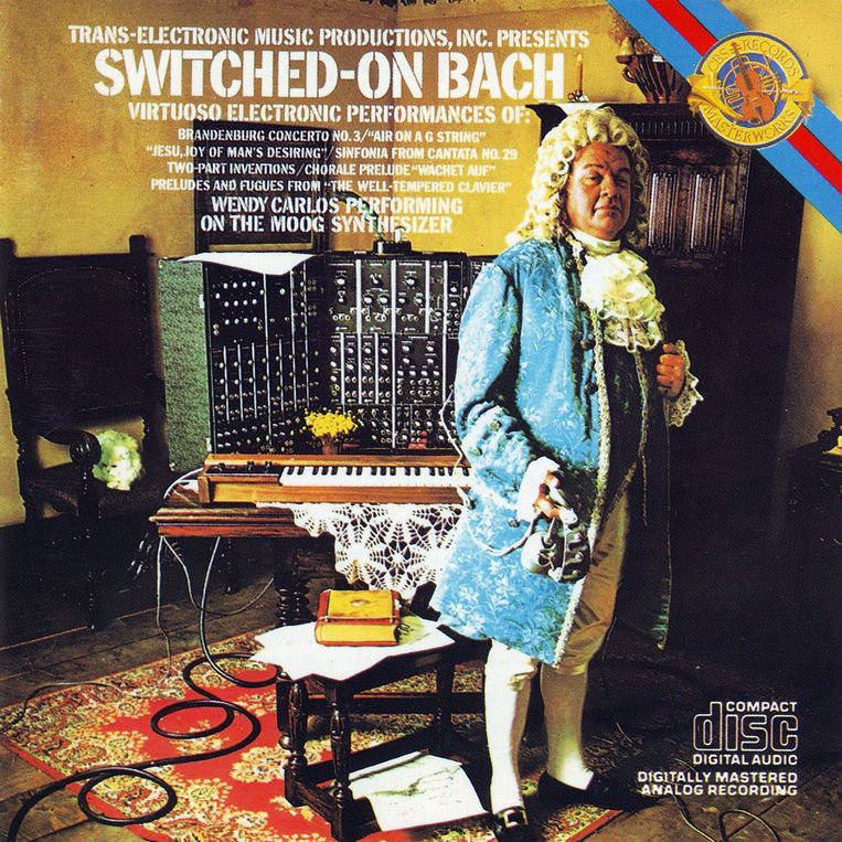 Wendy Carlos, Switched On Bach, 1968. Beeld