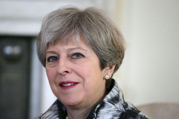 De Britse premier Theresa May.