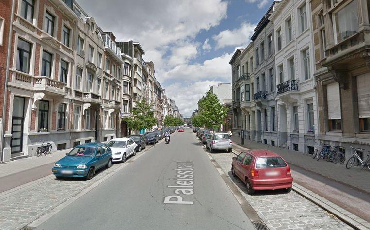 Paleisstraat Antwerpen.
