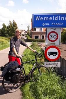 Brabantse Bram stap dichter bij doel: álle dorpen en steden van Nederland befietsen