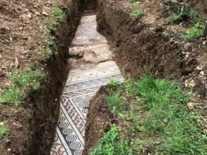 Les vestiges d'une villa romaine découverts sous un vignoble en Italie