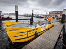 Watertaxi Scheveningen stopt met varen