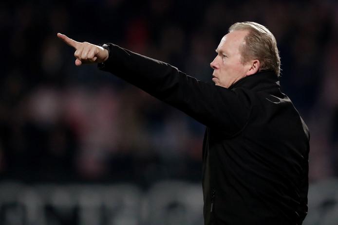 Helmond Sport-trainer Wil Boessen kondigt veranderingen aan voor de wedstrijd tegen Jong Ajax.