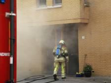 Brand in keuken van woning in Amersfoort