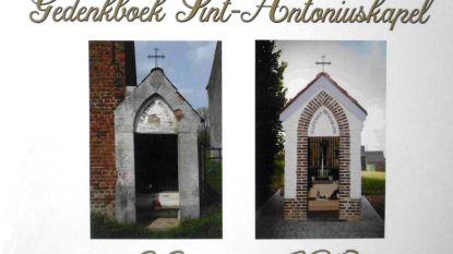 Gedenkboek over Sint-Antoniuskapel belicht geschiedenis sinds bouw in 1919 tot heropbouw in 2018