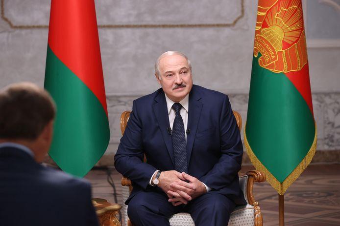 Wit-Russische leider Aleksandr Loekasjenko.