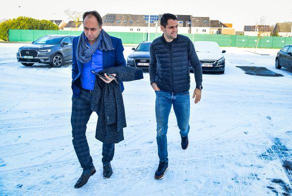 Waasland-Beveren-voorzitter Dirk Huyck kwam het in januari uitleggen op de voetbalbond.