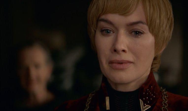 Cersei moet het inzien: het is voorbij.