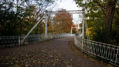 Witte hangbrug Stadspark wordt na 150 jaar gerestaureerd: deel park in voorjaar 2020 afgesloten