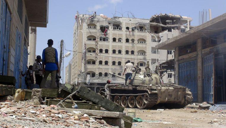 De stad Aden in Jemen. Beeld reuters