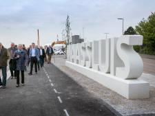 Fietspad Koning Willem-Alexander Boulevard in Maassluis in weekend ook weer open