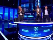 VIDEO: Lineker, Ferdinand, Gerrard en Owen gaan los na 6-1 van Barça