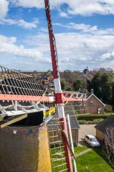 Geduld is beloond: restauratie molen Hoedekenskerke begonnen