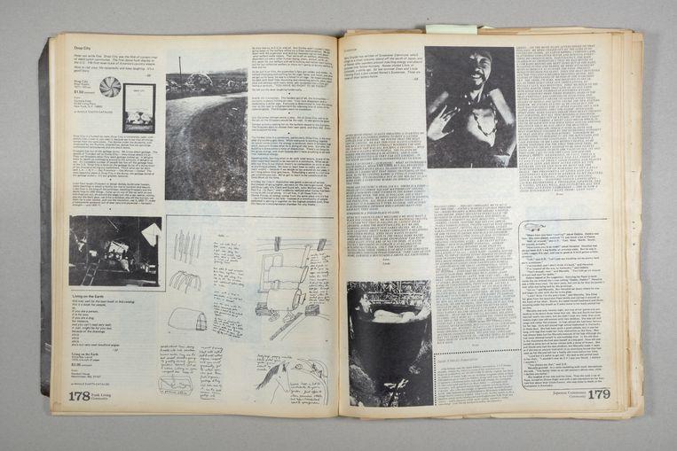 Uit de Whole Earth Catalog. Beeld Jim Campers