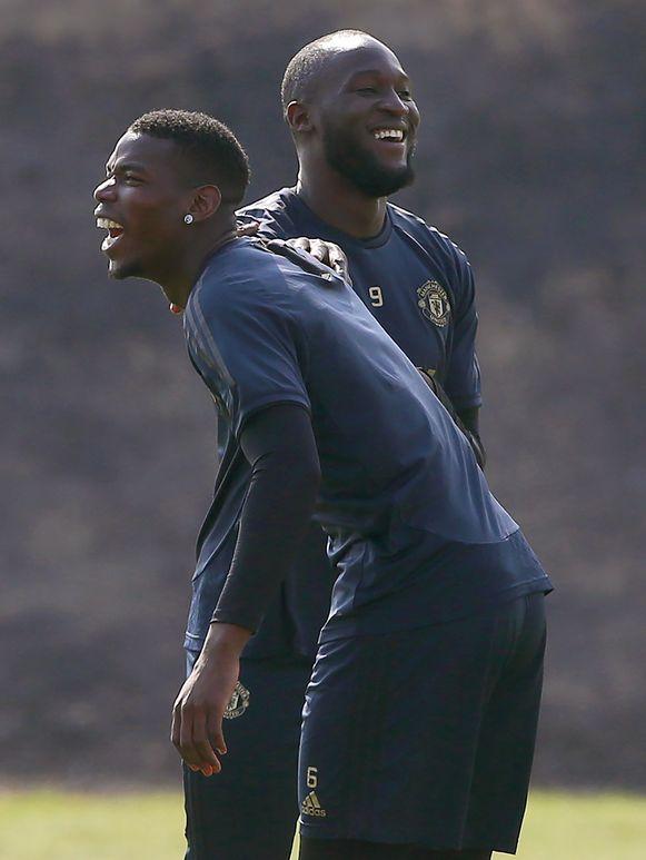 Lachen geblazen Barcelona? Lionel Messi? Stress? Pogba en Lukaku zien het best zitten vanavond.