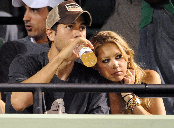 Enrique en Anna in 2009