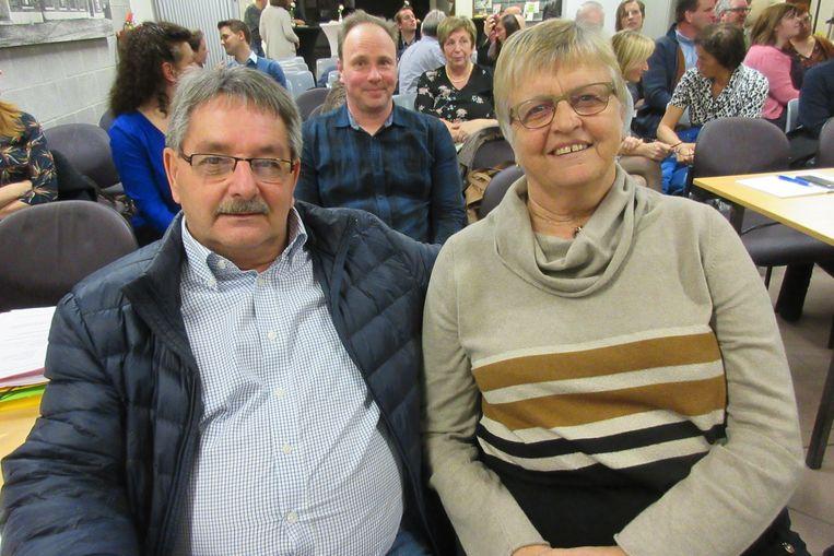 André Jonckers en Diane Boghe zitten voortaan in het publiek.