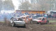Zondag autocross in de Geluwestraat
