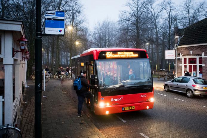 Buslijn 154 rijdt vanaf 2019 niet meer door de Schijndelse wijken, maar over de randweg Structuurweg.