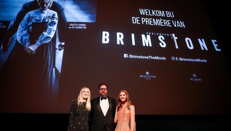 Martin Koolhoven op de premiere van Brimstone Beeld ANP