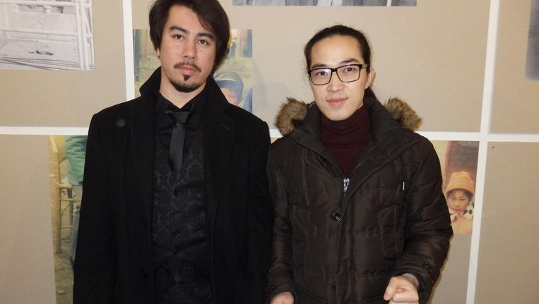 Opkomende multimediakunstenaars Dawood Hilmandi en Louis Hothothot, tot mei te zien in de Bijlmer Beeld Schuim