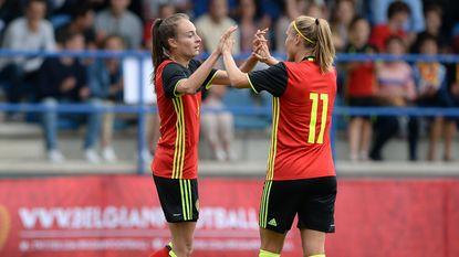 Red Flames naar EK met 2-0-zege tegen Rusland