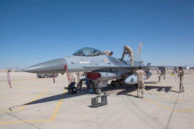 Eerder heeft ons land al posities van IS gebombardeerd in Irak. De F-16's opereerden vanop een luchtmachtbasis in Jordanië.