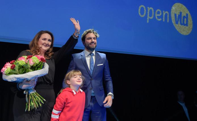 Georges-Louis Bouchez avait été acclamé lors des Vœux du Nouvel An de l'Open Vld.