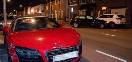 Kerende auto ziet dure Audi over het hoofd in Tilburg