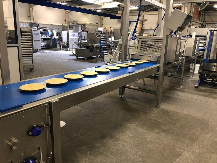 De nieuwe lijn kan tot 1.200 vlaaien van hoge kwaliteit per uur produceren