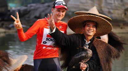Wellens triomfeert in China, slotetappe prooi voor Gaviria