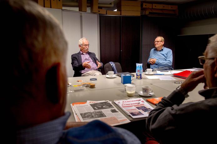 08-10-2018. WIJCHEN. Synprodo met oud werknemers dgfoto foto editie Maas en Waal foto Eveline van Elk