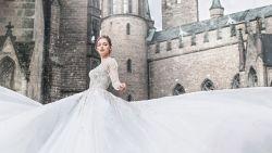 Om bij weg te dromen: Disney betovert met collectie bruidsjurken van maat 32 tot 60