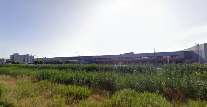XPO Logistics op de Geer in Oss.