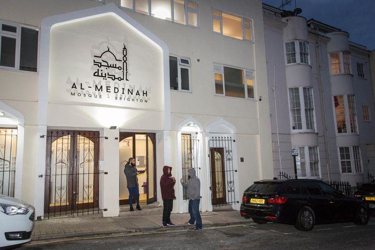 Soufyan Ahannach hangt het puristisch salafisme aan, onder meer in de moskee Al Madina Beeld Dingena Mol