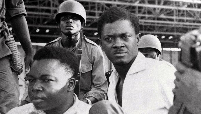 De Congolese premier Patrice Lumumba (rechts) werd op 17 januari 1961 vermoord.