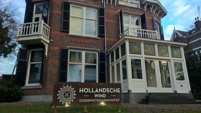 Het pand van Hollansche Wind in Oosterbeek is compleet verlaten.