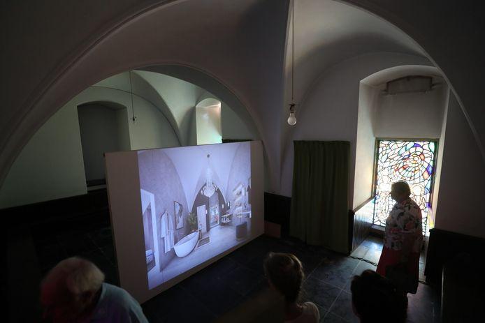 Er was veel interesse voor de nieuwe appartementen in het kasteel van Gemert