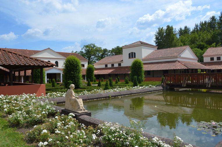 De Romeinse Villa Borg in Saarland  Beeld Karin Luiten