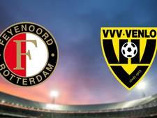 LIVE: Feyenoord aast met Van Beek op herstel