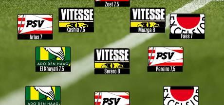 PSV en Vitesse regeren Elftal van de Week