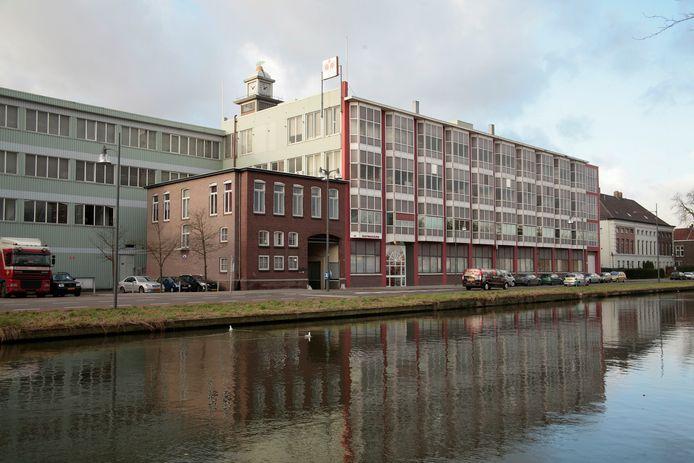 Het complex van textielfabriek Raymakers aan de Kanaaldijk Noord-West in het centrum van Helmond.